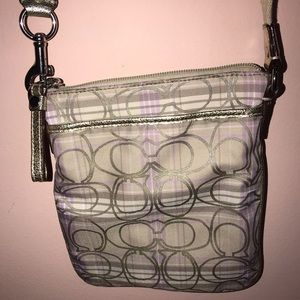Beige Crossbody Purse
